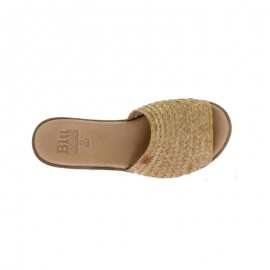 Blusandal jute wood clogs