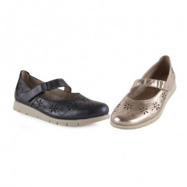 Women's comfortable velcro mary jane