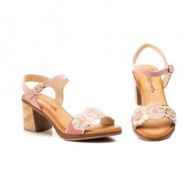 Sandalias tacón bajo elegantes