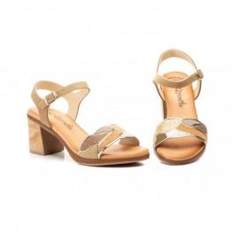 Sandalias mujer tacón medio