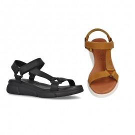 Sandalias mujer confort piel