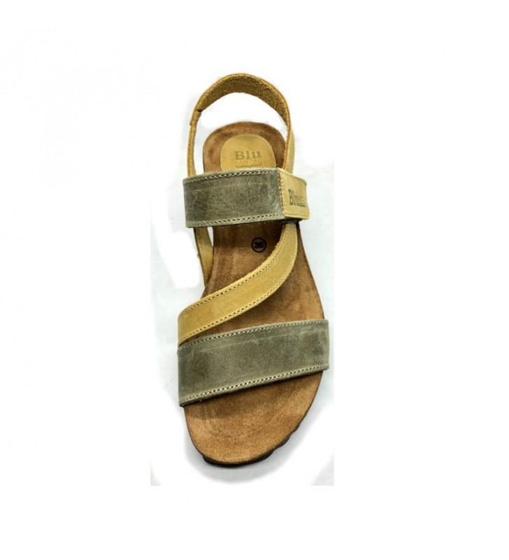 Sandals woman bio wedge