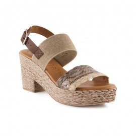 Comfort gel high-heeled sandals
