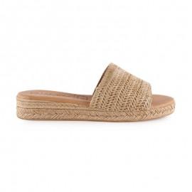Women's pala raffia sandals