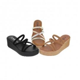 Sandalias plataforma mujer
