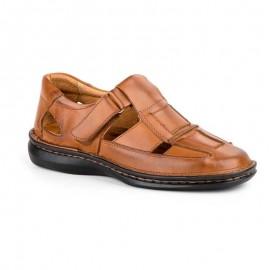 Sandalias hombre piel confort