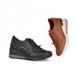 Women's wedge urban sneakers