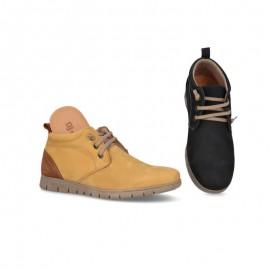 Original leather men's ankle boots