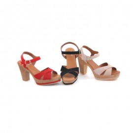 Comfortable high-heeled sandals for women