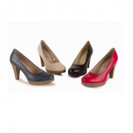 Women's leather lounge shoes