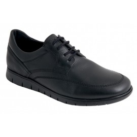 Men's Comfortable Black Leather Shoes