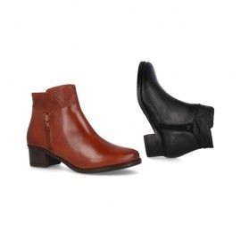 Ankle boots woman plant gel