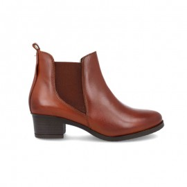 Comfortable gel sole ankle boots