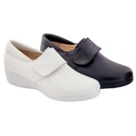 Zapatos Anatómicos Piel Velcro