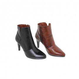 Woman Dress Leather Ankle Boots