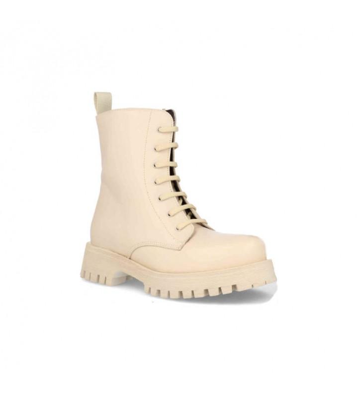 Platform military boots
