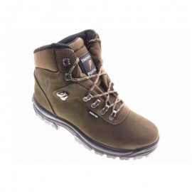 Camouflage boots with simpatex
