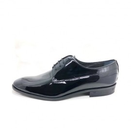 Men patent leather shoes