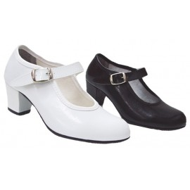 Zapatos de Bailar Flamenca Pasos de Baile