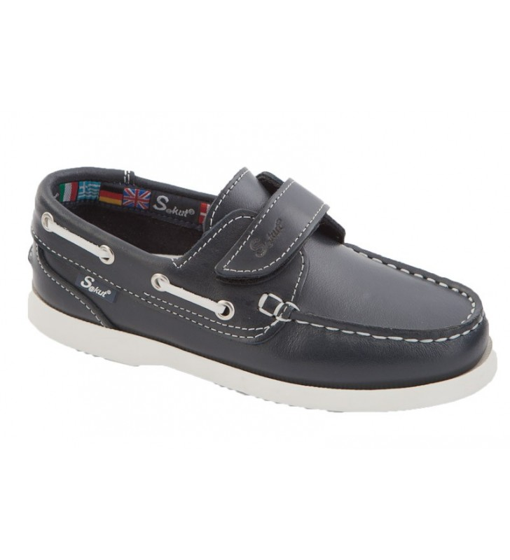 Zapatos Nauticos Piel Niño 1