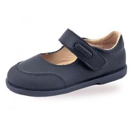 Zapatos Colegial Niña Piel PUNTERA REFORZADA 1