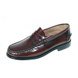 Zapato Vestir Hombre burdeos