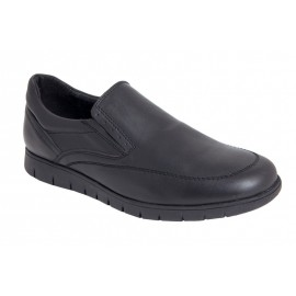 Comfortable leather men's shoes
