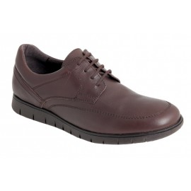 Comfortable Brown Leather Men's Shoes
