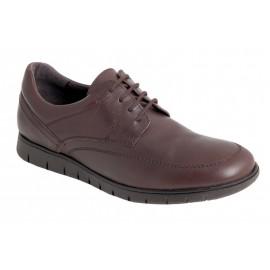 Zapatos Hombre Cómodos Piel Marrón