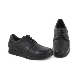 Comfortable leather man shoe