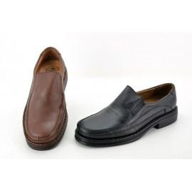 Zapatos hombre confort piel