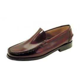 Zapatos Castellanos Tallas Grandes burdeos