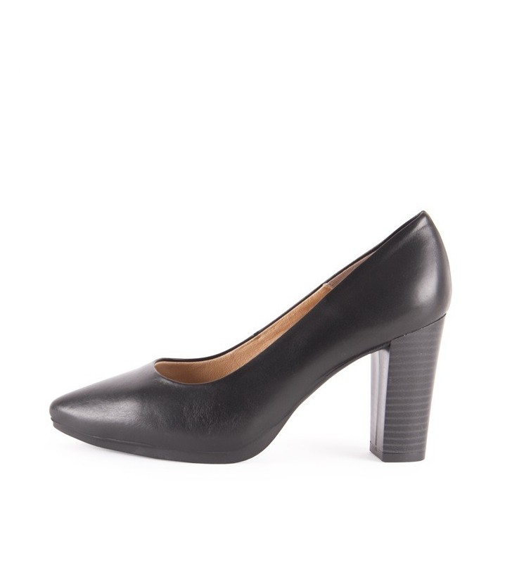 Women's Leather Salons black