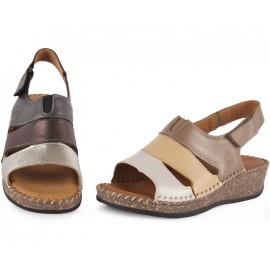 Sandalias Mujer Velcros 1