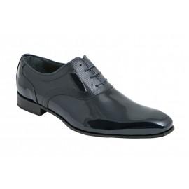 Zapatos Tallas Grandes Charol Marino 1
