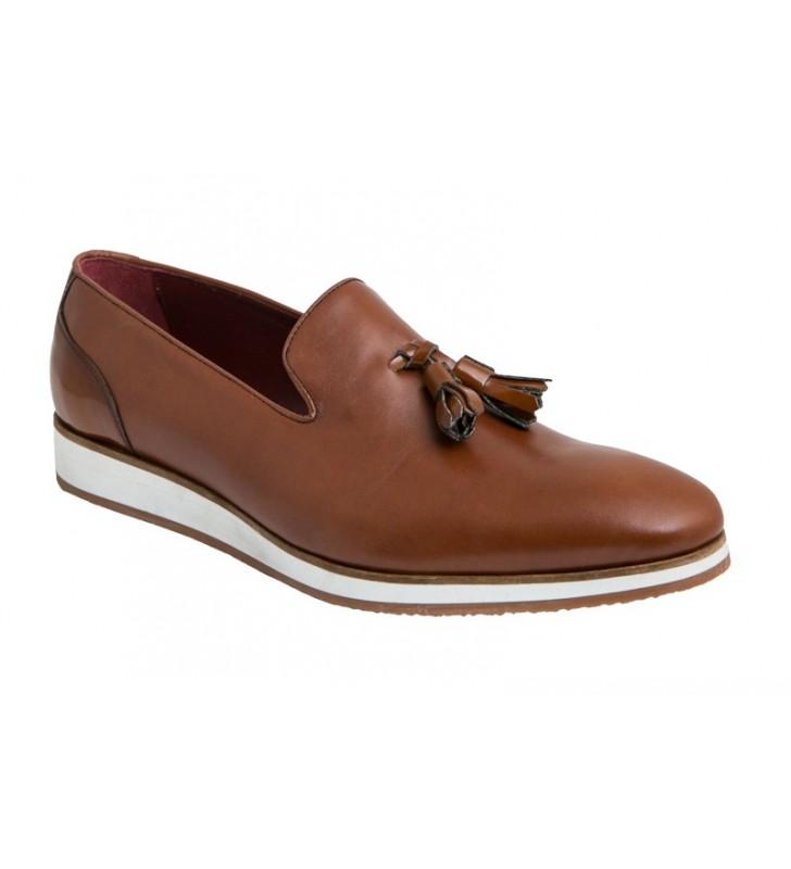 Zapatos hombre serraje azul 3