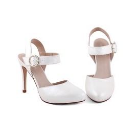 Zapatos Novia Blanco 1