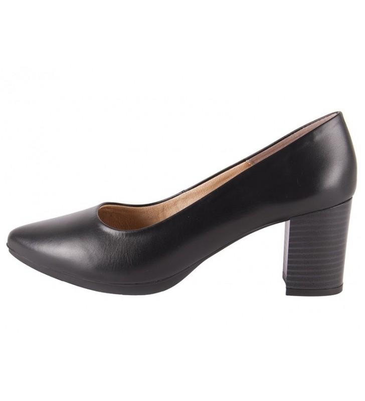Zapatos salones mujer negro