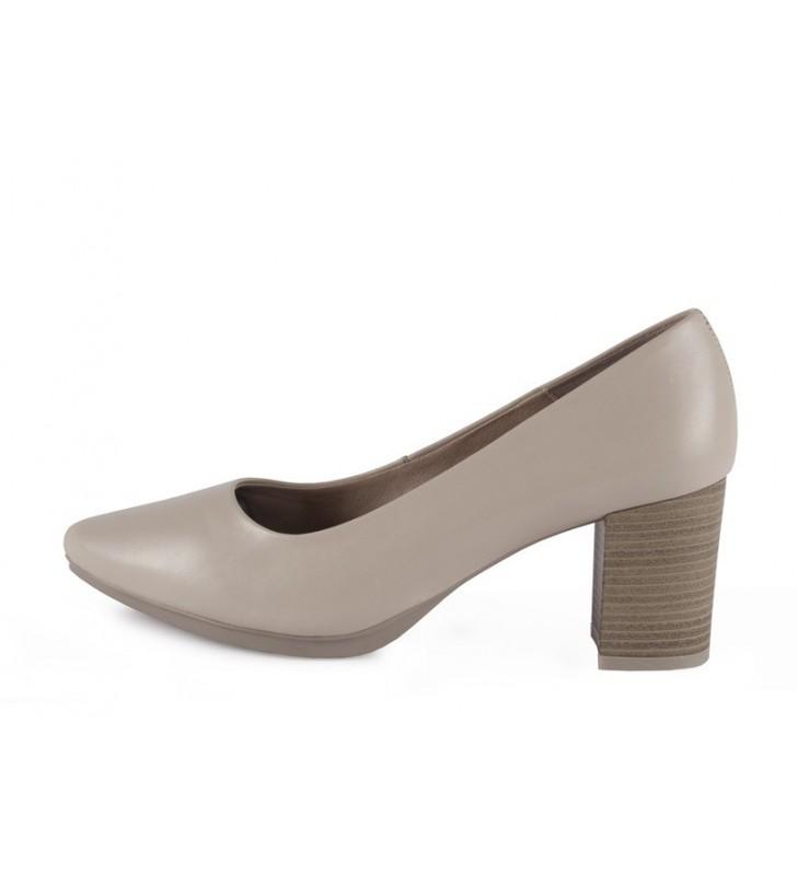 Zapatos salones mujer beig
