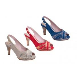 Zapatos mujer tallas grandes rojo