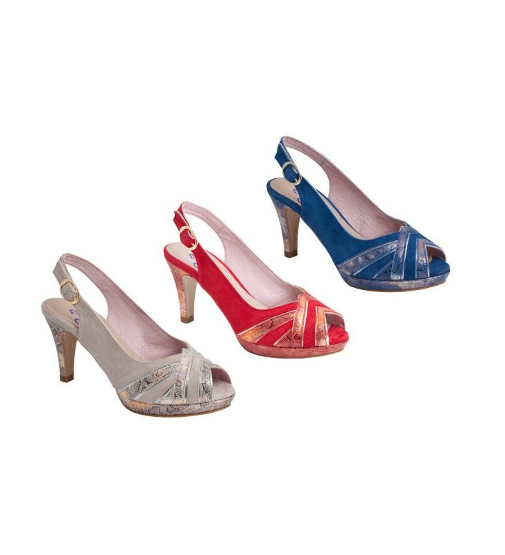 6a79a3fe Zapatos mujer tallas grandes rojo