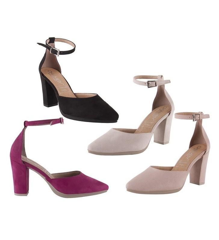 Zapato Mujer Vestir Ante 1