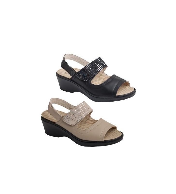 Sandalias mujer ancho especial
