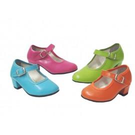 Zapatos de Bailar Flamenca Colores 1