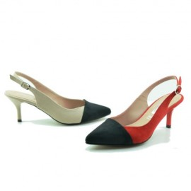 Low-heeled women's lounge 1