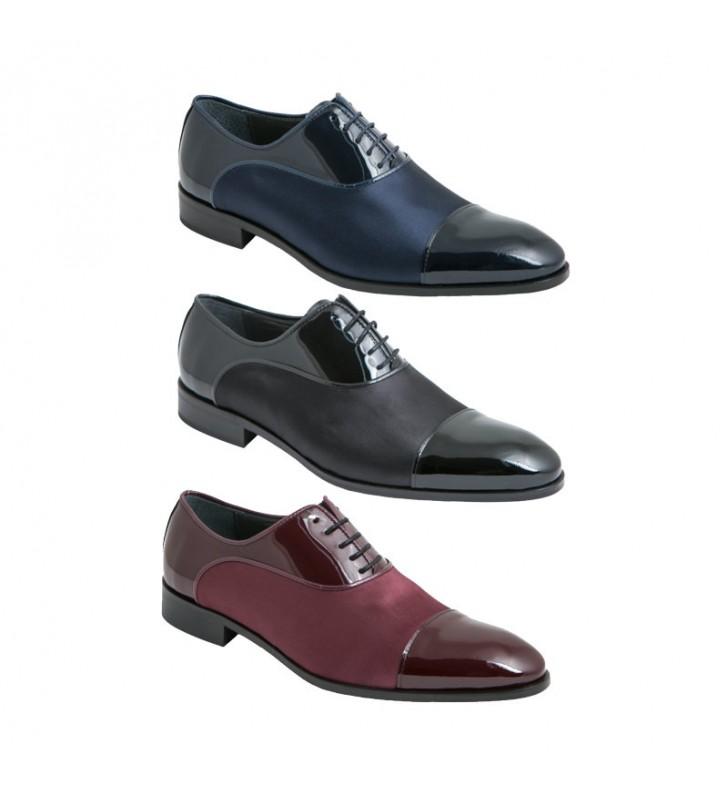 6746ea0c Zapatos ceremonia novio charol raso