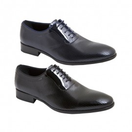 Zapatos novio ceremonia charol jr 192