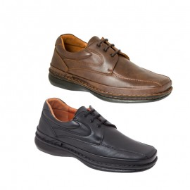 Zapatos tallas especiales hombre Piel