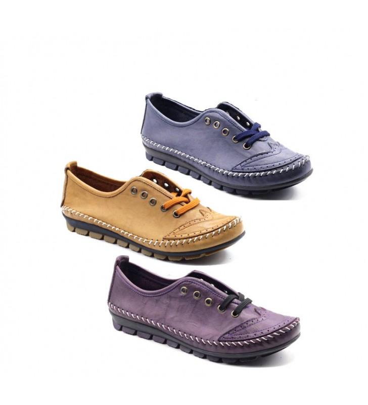 fc76a11f72a2d Zapatos mujer cómodos cordones