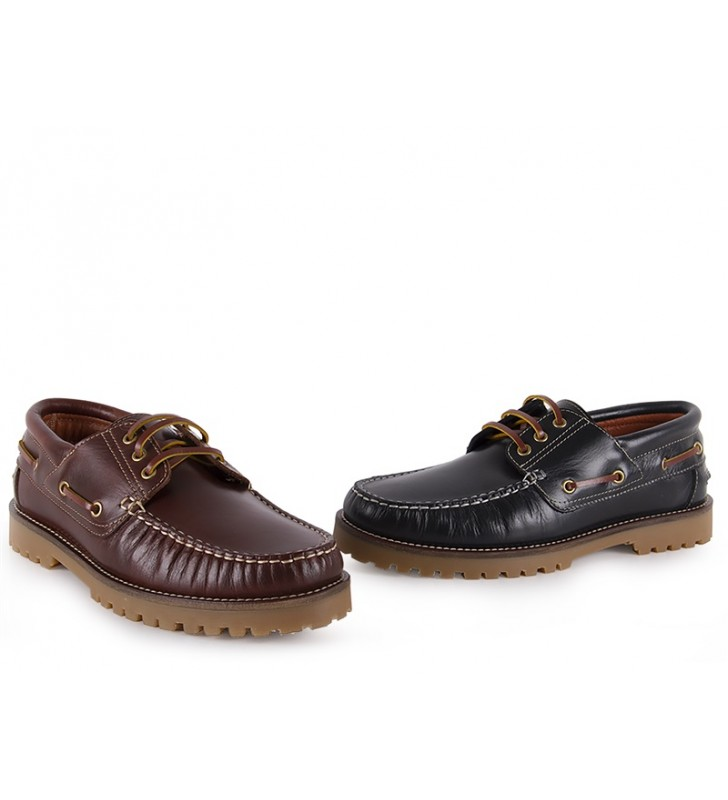 6fab8d164e Zapatos Náuticos Mujer Piel